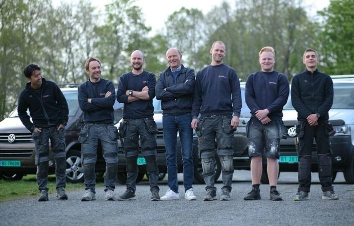 Bilde av Medarbeiderne i Ødegaard & Sterten AS