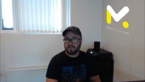Søkemotoroptimalisering - Bilde av meg som forteller om SEO i Video